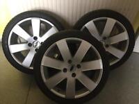 Ford Fiesta Alloy Wheels 215/40/R17 Or £30 Each