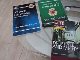 Various study manuals - posted in books. £3 the lot.