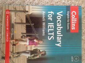 Vocabulary for IELTS + CD