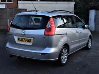 2007 MAZDA 5 TS2 1.8 ( 7 SEATER ) MPV 87000 MILES, SPARE OR REPAIR ONLY, NOT RETURNABLE