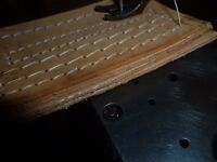 45K-SINGER-INDUSTRIAL-SEWING-MACHINE-with-table-For-Leather-HORSE-RUGS