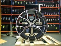 """22"""" BMW X5 Y Spoke Style Alloy Wheel and Tyre Package 5X120"""