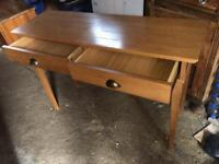 Lovely desk with a chair