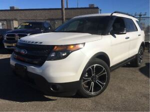 2013 Ford Explorer Sport 4x4 LEATHER NAVIGATION PANORAMA ROOF