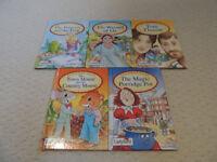 Set of 5 Ladybird Childrens Books