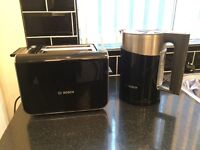 Bosch Styline kettle and toaster - new