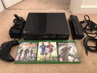 Xbox One plus Kinect + Games (Fifa, The Division, Watch Dogs)