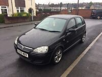 Vauxhall Corsa 55 reg in black ideal first car ,px welcome