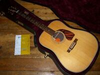 Gibson Custom Shop J-60 dreadnought acoustic with LR Baggs pickup 2013