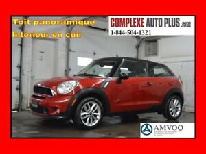 2014 Mini Cooper Paceman S ALL4 AWD *Cuir,Toit pano.