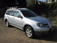 Mitsubishi Outlander 4x4, '04, 2.4 Petrol, Sports, SE Automatic, FSH, Full Leather, 2 Lady Owners,