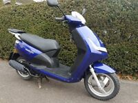 Peugeot VIVACITY 3 scooter, moped 49cc 2009 with low mileage.