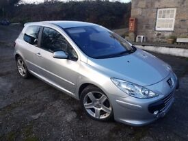 Peugeot 307 XSI 2.0 Diesel 2005 - Excellent Condition