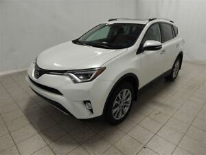 2017 Toyota RAV4 LIMITED AWD, Cuir, Gr. Electrique, Toit ouvrant