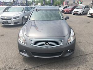 2012 Infiniti G37X Sport | LEATHER | ROOF | AWD | CAM London Ontario image 3