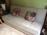Sofa bed in good condition with storage under
