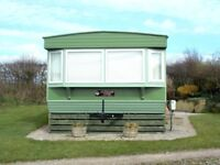 2000 Atlas Sherwood Static Caravan for sale in Silloth, Cumbria. Site fees paid for 2018!