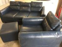 Leather Sofa / Chair FREE Tidy