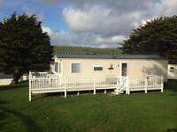 Static Holiday Caravan in Cornwall September at Newquay View Resort Indoor Pool Walk to beach Surf