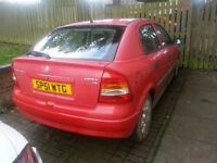 vauxhall astra club - spares or repair