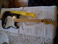 Strat style guitar, personally built