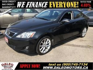 2013 Lexus IS 250 AWD | SUNROOF | ALLOYS