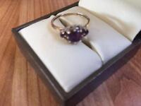 Amethyst Ring size K