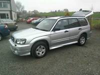 04 Subaru Forester 2.0 Awd4x4 Estate Fsh Moted Sept 2017( can be viewed inside anytime)