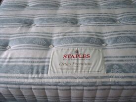 Staples (royal warrant) good clean double bed mattress. very comfortable