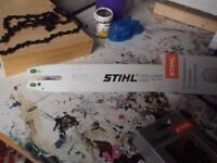 Stihl Chainsaw Bar 171 and chain all new