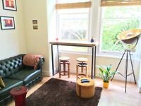 Converted Ground 1 Bed Flat Allocated Parking Shared Garden Near Tube Bus Shops Park