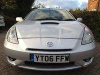(2006)TOYOTA CELICA 1.8VVTI SILVER WITH MOT AND FULL SERVICE HISTORY