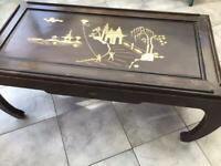 Vintage Handmade Coffee Table