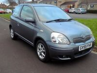 2005 TOYOTA YARIS 1.3 VVTi COLOUR COLLECTION 3 DOOR A/C