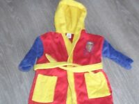 Bob the builder 18mnths-2yrs dressing gown