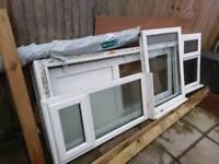 Upvc windows x 2 (white)
