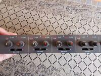 TOA stereo mixer D-3 model - mixing desk - studio - live - mountable