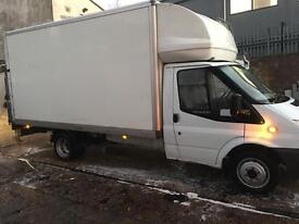 MAN&VAN LARGE LITON VAN WITH TAIL LIFT 24/7HOUSE OFICE FLAT STUDENT MOVERS ALL OVER UK