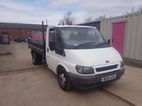 FORD TRANSIT 350 MWB TIPPER TD 2006REG FOR SALE