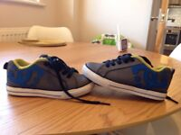 Infant size 10 dc trainers good condition