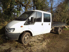 Ford Transit Tipper in good condition