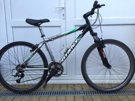 """GIANT TERRAGO Mountain Hybrid Bike. 17"""" Frame. 26"""" Wheels. Serviced Bike"""