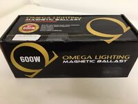 OMEGA LIGHTING 600W POWER BALLAST(BOXED-UNUSED)