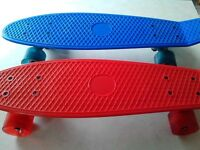 2 kids Smyth's penny boards, mint condition, £10 for both