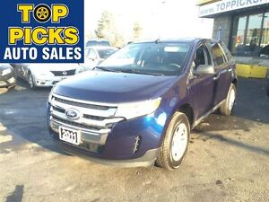 2011 Ford Edge SEL, ALLOYS, DUAL EXHAUST, POWER SEAT, V6!