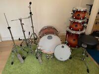 Mapex Armory 22' LA Fusion 5pc drumkit + Hardware
