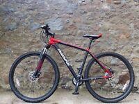 Mountain Bike Muddyfox Colossus300 men, Black/Red, 29Wh/20Fr