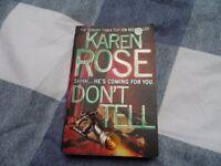 Book - Don't Tell (Karen Rose)