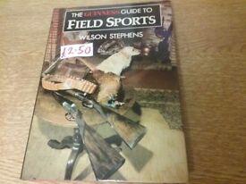 Field sports book