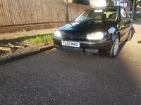 2003 VOLKSWAGEN GOLF 1.9 GT TDI 150 BHP CD CHANGER, ALLOY WHEELS, 6 SPEED GEARBOX